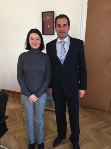 переговори у Відні з Секретаріатом Європейського Енергетичного Співтовариства